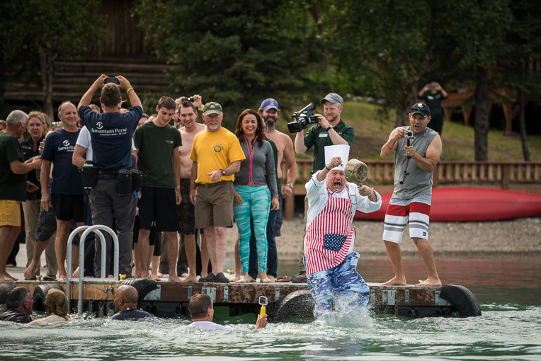 Jean-Claude joined the polar plunge at OHOP earlier this year.