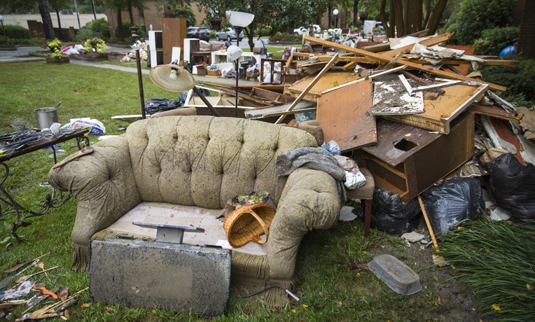 South Carolina homeowners have lost much in recent flooding.