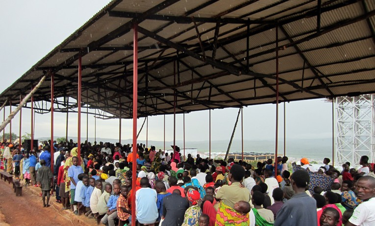 A Church for Burundian Refugees