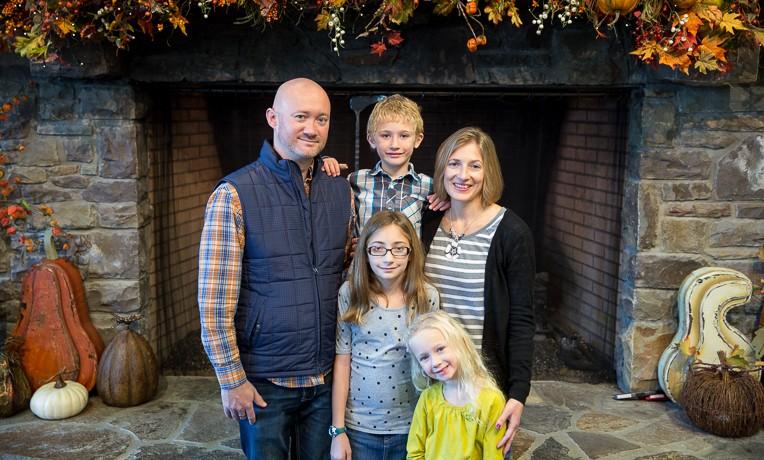 Children's Heart Project donor family, Van Steenvoorts, visit Samaritan's Purse IHQ