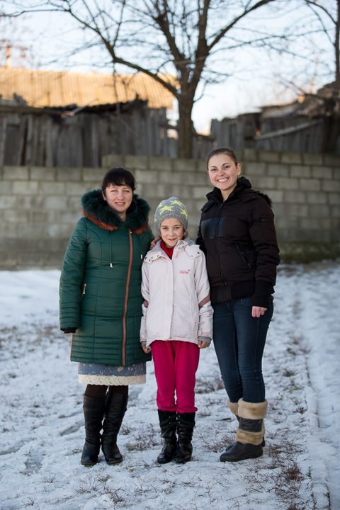 Rodica (left) taught Viorica, who is now a teacher herself. Viorica (right) stands by one of her students from The Greatest Journey class.