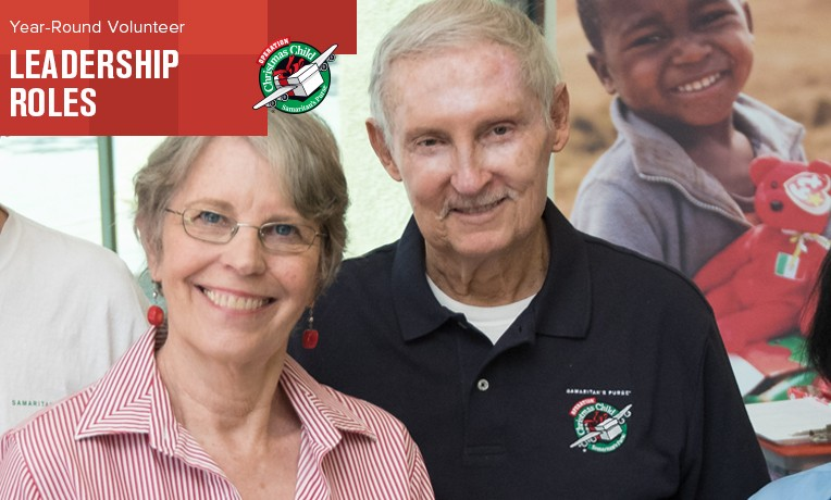 Year-Round Volunteers, Rick and Lynda Armstrong