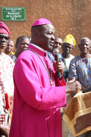 Church Rebuilding Begins in Niger