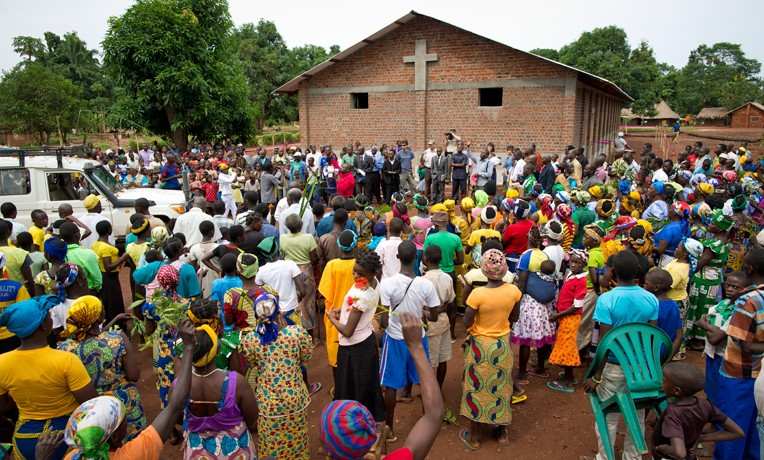 Church Rebuilding in DRC