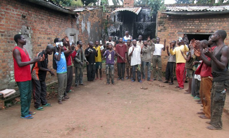 DRC Prison Minsitry Faradje