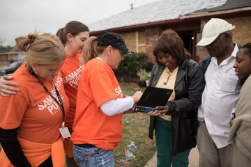 Samaritan's Purse is helping homeowners in Texas
