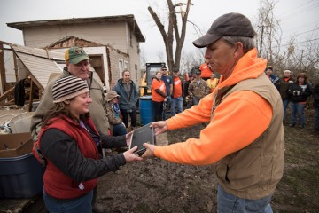 Homeowners in Texas receive relief from Samaritan's Purse