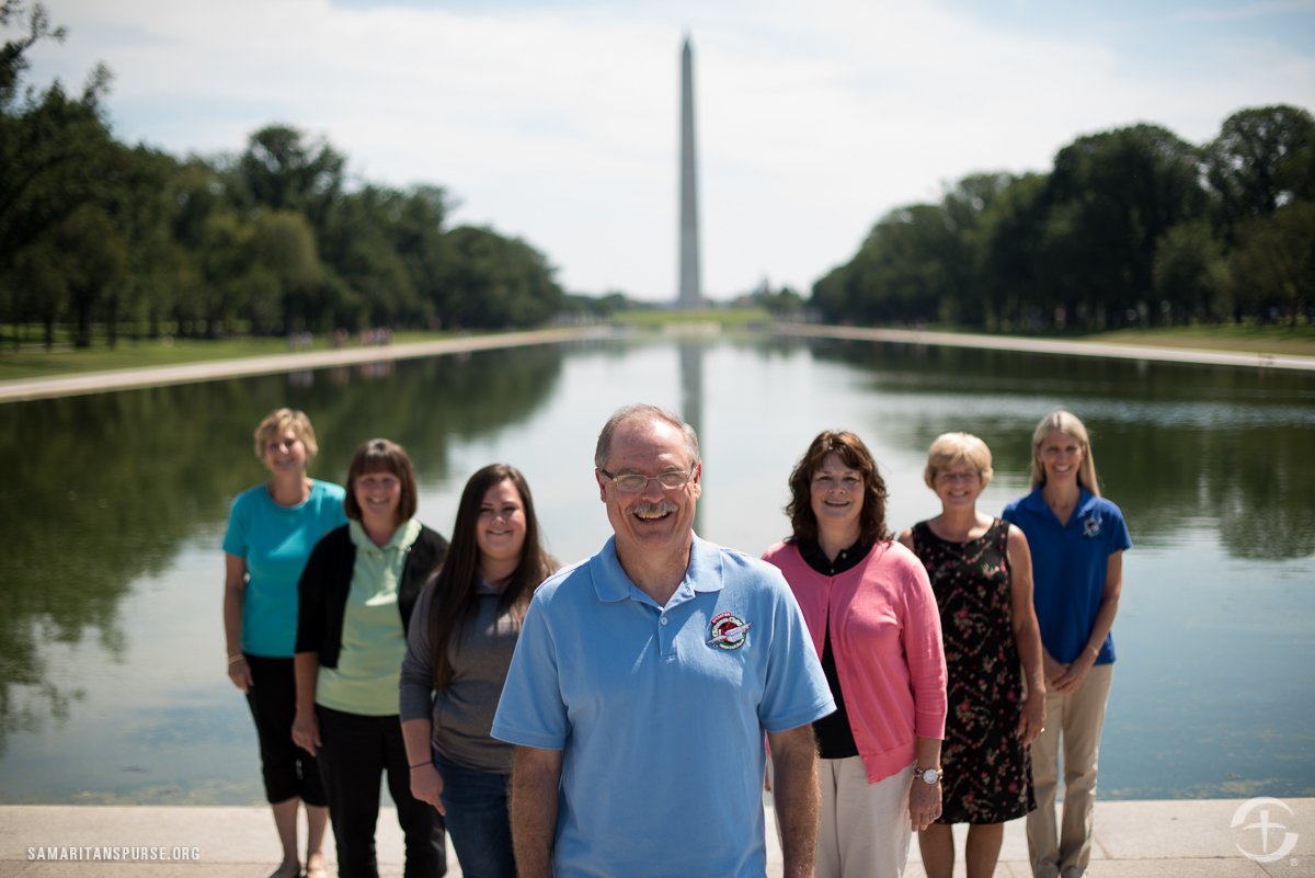 OCC Volunteers in Washington DC