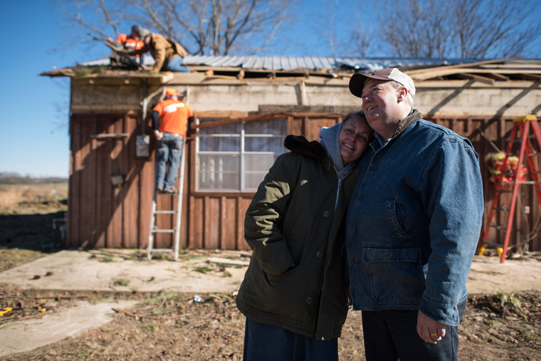 Mississippi homeowners thankful for the work of Samaritan's Purse