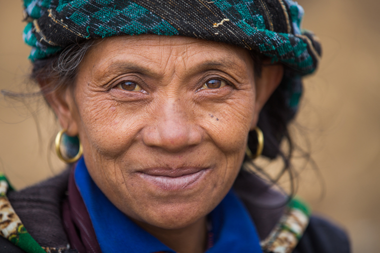 Villager in Nepal