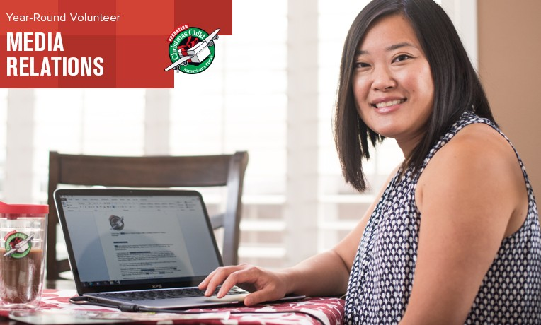 Luan Sy, a year-round volunteer with Operation Christmas Child, works with media relations in Southern California.