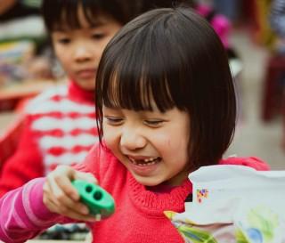 An Operation Christmas Child Celebration in Vietnam