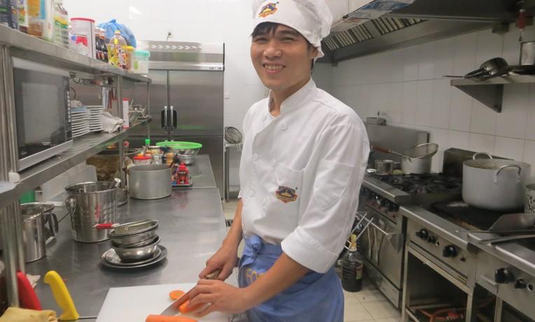 Bui Van Tai benefitted from a Samaritan's Purse scholarship to Hoa Sua Vocational School.