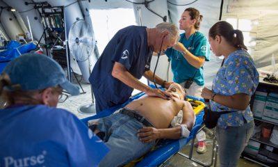 Samaritan's Purse Emergency Field Hospital Ecuador