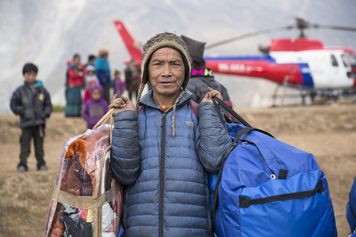 1619NP – Winter Airlift to Nepal and Distributions