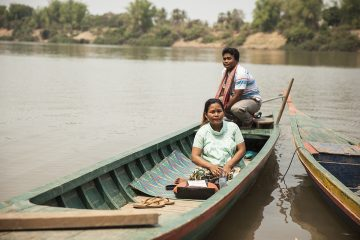 Mok Pheakvy and her family live in a village so remote they must travel by boat to the birthing center.