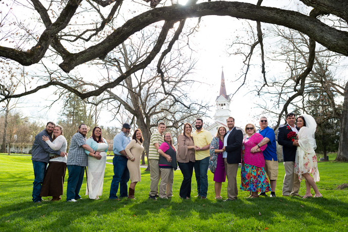 Eight couples rededicated their marriages to God and each other during the reunion weekend.