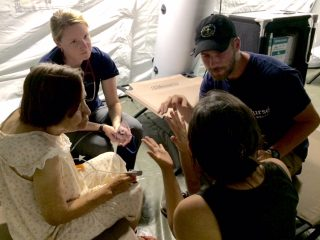 Samaritan's Purse Emergency Field Hospital Ecuador