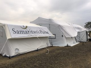 Our field hospital in Ecuador; Samaritan's Purse