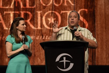 Michael and Amy Smalley shared tools for handling marital conflict.