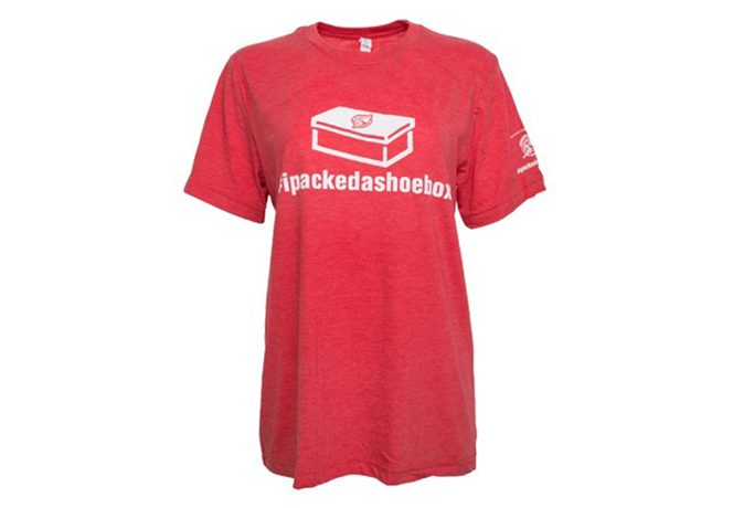 ipackedashoebox tshirt