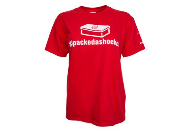 ipackedashoebox youth t-shirt