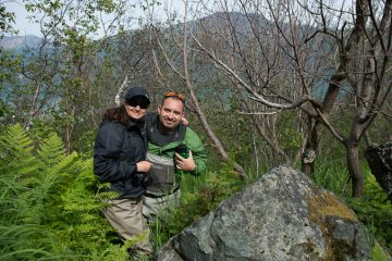 Operation Heal Our Patriots, wounded veterans, John and Cecilia hiking in Alaska.