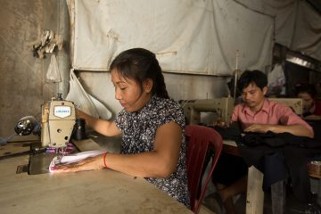 Thida's mother, Sookcan, works hard for her family.