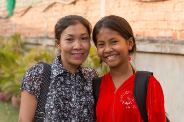 Thida and her mother