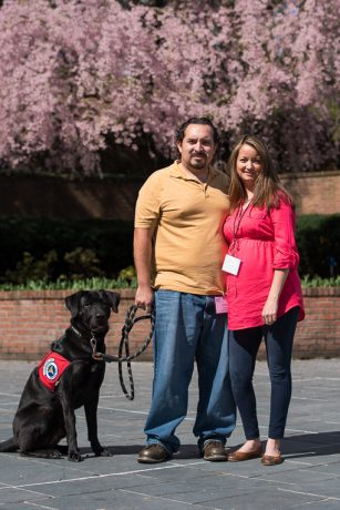 John and Cecilia Valdez attended the 2016 Operation Heal Our Patriots Reunion along with John's service dog Chopper.