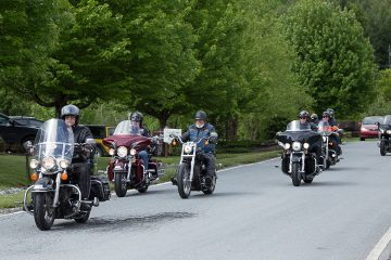 Motorcycle riders came out on Armed Forces Day to support military families through Operation Heal Our Patriots.