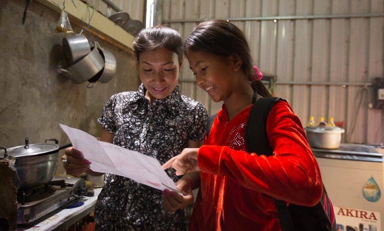 Thida Horn, 13yo OCC and TGJ student in Cambodia