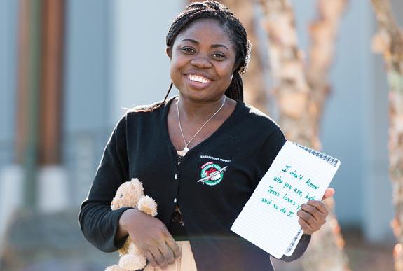 Operation Christmas Child Shoebox Stories: Azima and a Handwritten ...