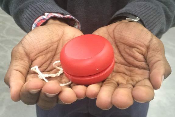 Kojo and a Yo-yo