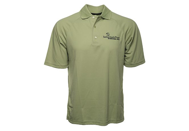 Men's Moisture Management Polo Shirt, Green