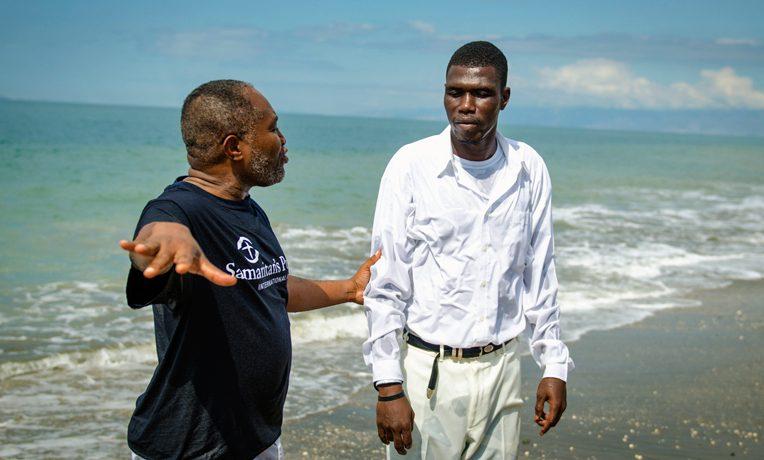 Haiti baptism