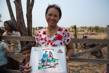 Lot's sister volunteers with Samaritan's Purse in Cambodia.