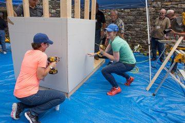 US Disaster Relief volunteer retreat;