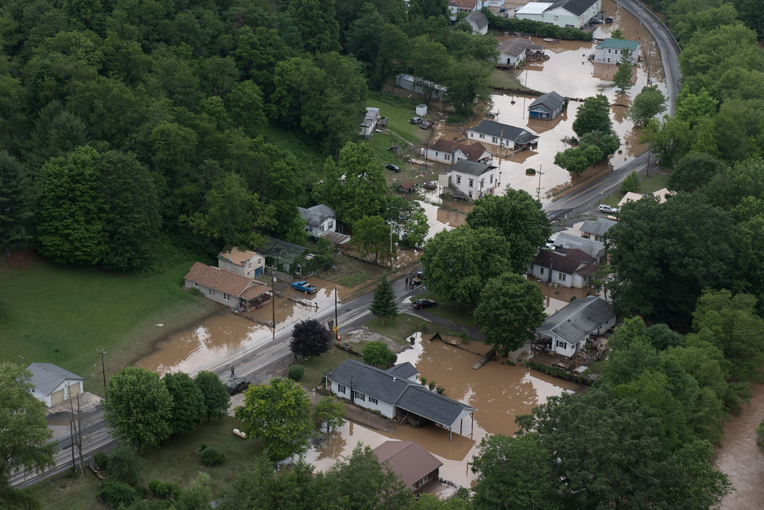 Please pray for families affected by disastrous flooding in West Virginia.