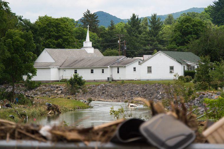 Pray for West Virigina in the wake of devastating floods.
