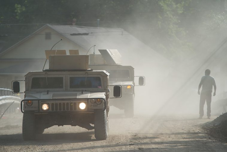 The National Guard is providing help in West Virginia.