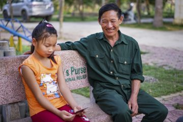 Tac struggled to care for his family until Samaritan's Purse provided help.