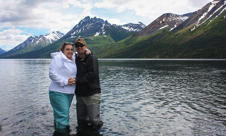 Matt and Brandie delaPaz made a commitment to Christ at Samaritan Lodge Alaska.