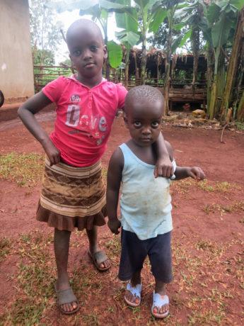 Irene, Children's Heart Project patient from Uganda