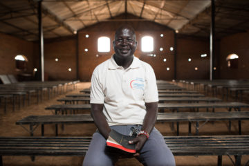 The Reverend William Aguer, pastor of Holy Trinity Cathedral in Aweil, said Samaritan's Purse brought hope even in times of war.