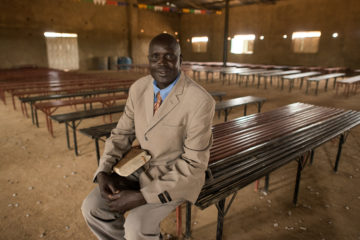 Pastor William Deng Koch, pastor of Sudan Pentecostal Church in Akuem, led several witchdoctors to the Lord.