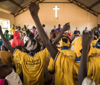The Church stands strong in South Sudan despite past persecution and current unrest.