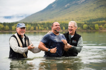 Israel Santiago was baptized during Week 15 of Operation Heal Our Patriots.