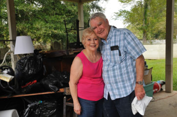 With help from Samaritan's Purse, Pat and Andrew McLin are recovering from floods in Louisiana.