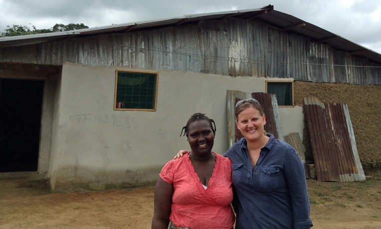 Jenneh, a beneficiary of a Samaritan's Purse agriculture program